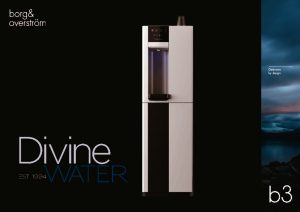 thumbnail of B3 Borg & Overstrom Product Brochure (Divine Water)