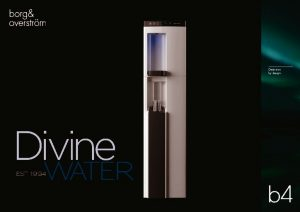 thumbnail of B4 Borg & Overstrom Product Brochure (Divine Water)