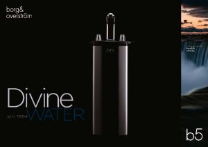 thumbnail of B5 Borg & Overstrom Product Brochure (Divine Water)